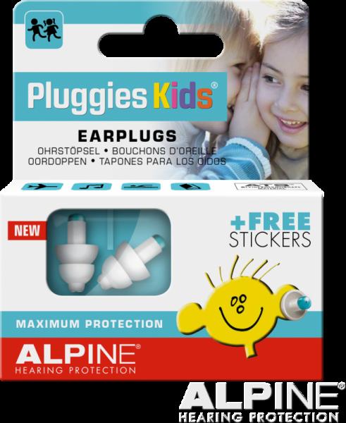 Alpine Gehörschutz Pluggies Kids