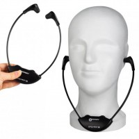 Hörverstärker mit Zusatz-Kinnbügelhörer Geemarc LH-20 Duo-Set
