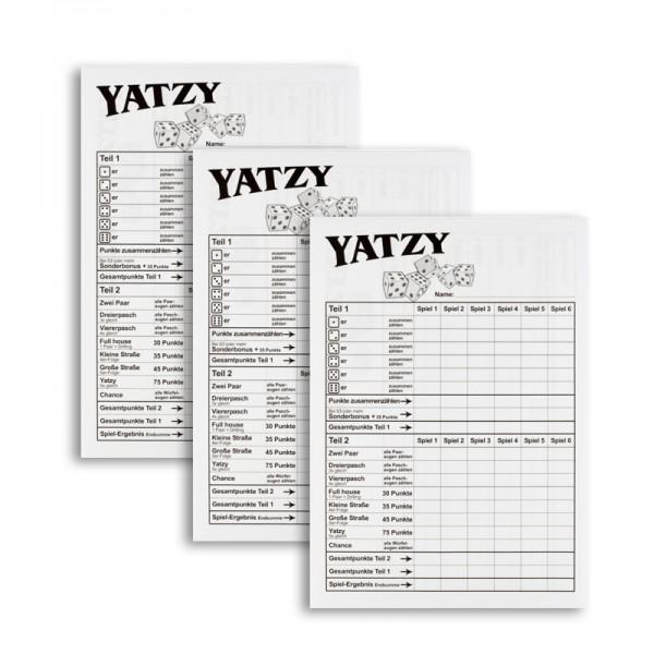 Yatzy Block Extra Classic XL