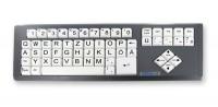 Großschrift-Tastatur Keytools BIG KEYS LX