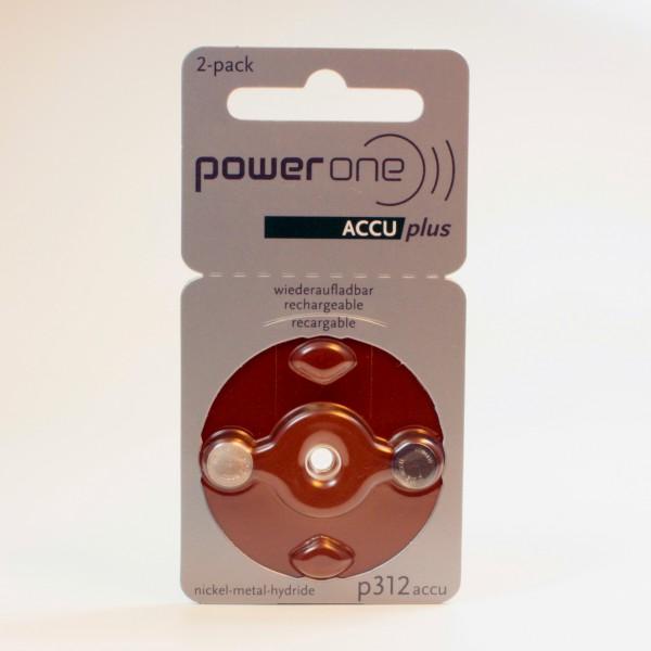 Powerone p312 ACCUplus Hörgeräte Akku
