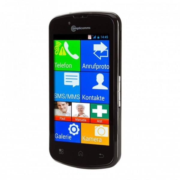 Amplicomms Smartphone für Senioren PowerTel M9500