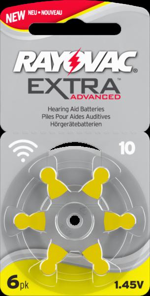 Rayovac Extra Advanced 10 NEW EXTRA Premium Pack