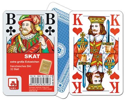 Skat-Karten Extra Classic XL