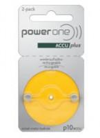 Powerone P10 ACCUplus Hörgeräte Akku