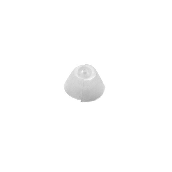 SpiraFlex Tulpen Schirmchen Tulip Dome (10 Stück) für Bernafon/ Oticon Dünnschlauch System