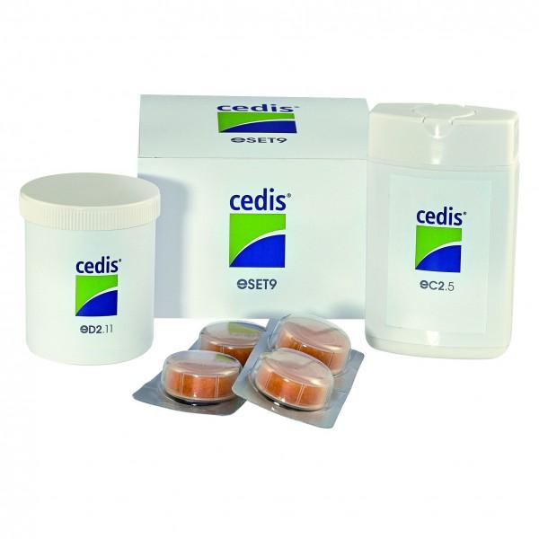 Cedis Reinigungs- und Trocken-Set eSET9 für IdO, mit Tuch