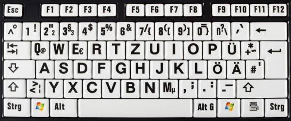 XXL Tastatur für Senioren