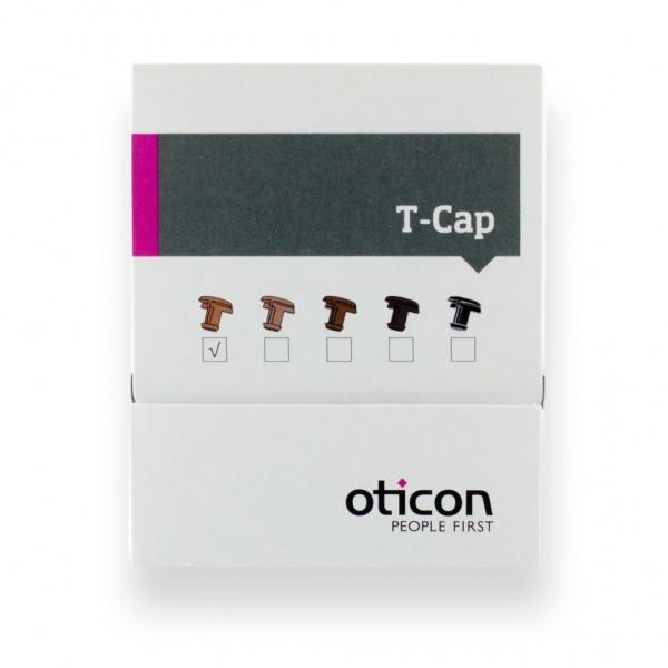 Cerumenfilter T-Cap-Filter Mikrofonschutz für Im-Ohr-Geräte mit 10er Batterie