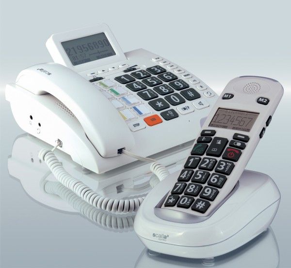 Humantechnik Schwerhörigen-Telefon Scalla 3 Combo