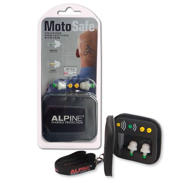 Alpine MotoSafe Gehörschutz für Motorradfahrer