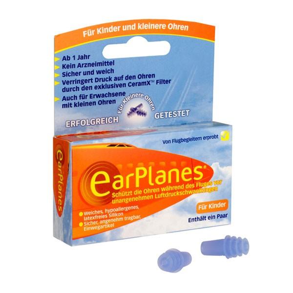 Ear Planes für Kinder, 1 Paar Druckausgleichs-Ohrenstöpsel