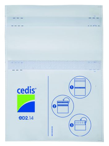 Cedis Trockenbeutel eD2.14 (150 x 110 mm)