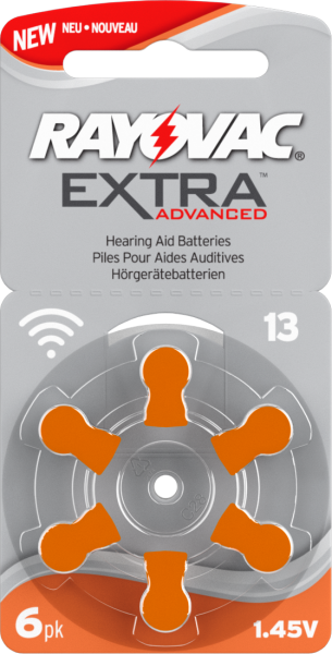 Rayovac Extra Advanced 13 NEW EXTRA Premium Pack