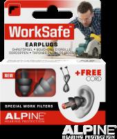 Alpine Gehörschutz Worksafe