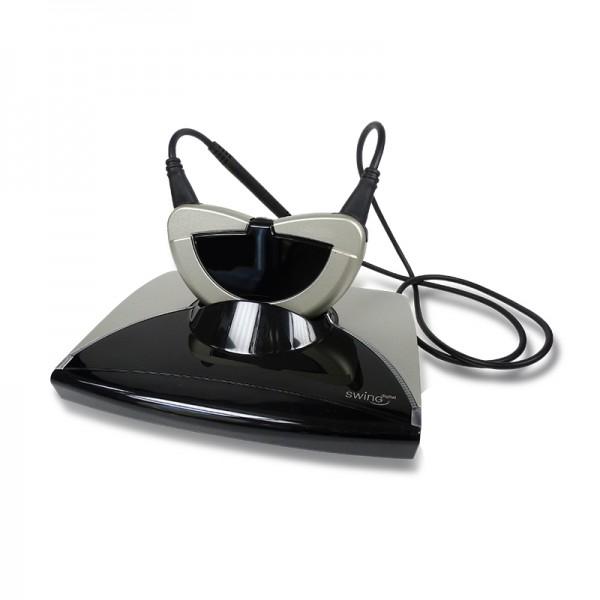 Humantechnik Induktiver Funk-Kopfhörer Swing Digital LR Set mit Teleschlinge