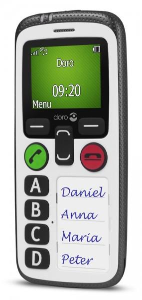 Doro Secure 580 GSM Mobiltelefon - Seniorenhandy mit großen Tasten