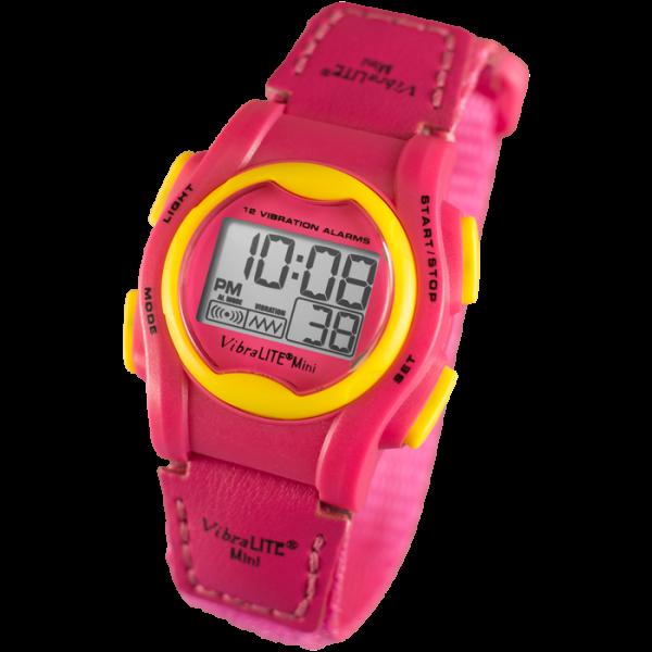 Vibrationsarmbanduhr VibraLITE Mini Pink