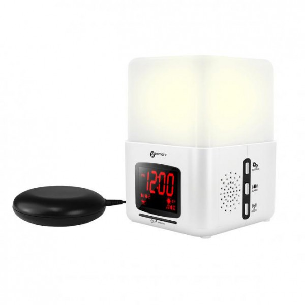 Geemarc Wake and Shake Light Licht- und Vibrationswecker