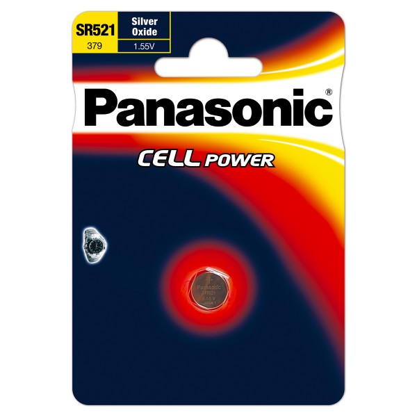 Panasonic SR521 Knopfzelle